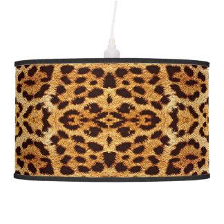 Leopard elegant fur pendant lamp