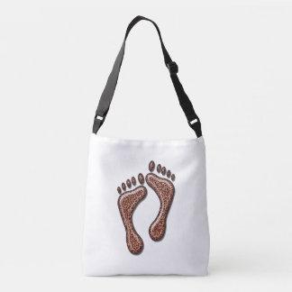 Leopard Feet Crossbody Bag
