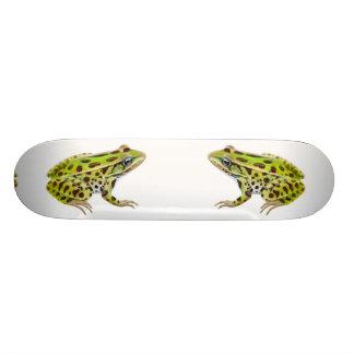 Leopard Frogs Skateboard