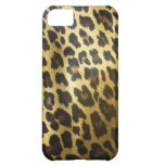 Leopard Fur Animal Print Case For iPhone 5C