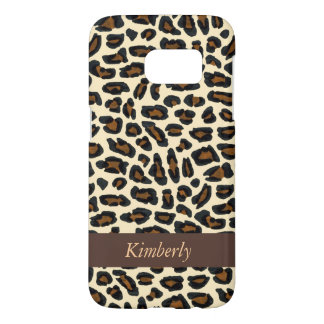 Leopard Fur Animal Print Samsung Galaxy S7 Case