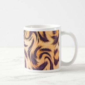 leopard fur coffee mug