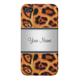 Leopard Fur I iPhone 4 Case