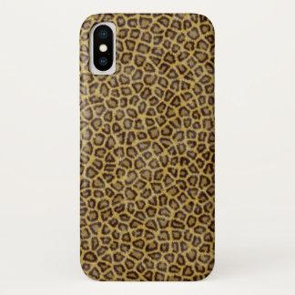 Leopard Fur iPhone X Case
