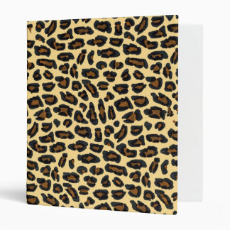 Leopard  Fur Print Notebook Binder