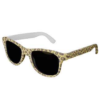 Leopard Fur Sunglasses