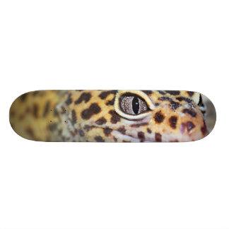 leopard gecko custom skate board