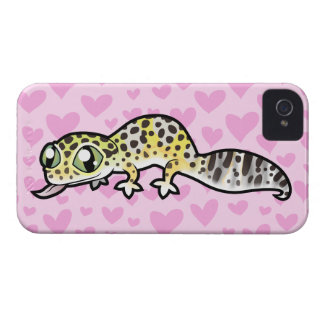 Leopard Gecko Love iPhone 4 Cover