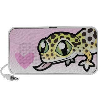 Leopard Gecko Love Portable Speakers