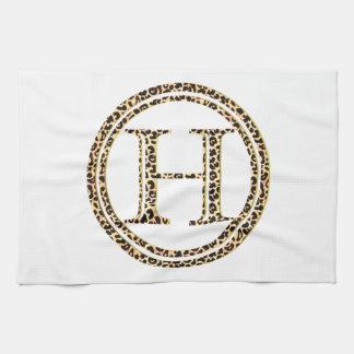 Leopard H Kitchen Towel