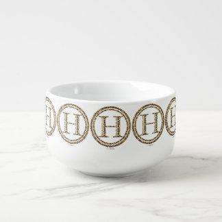 Leopard H Soup Mug