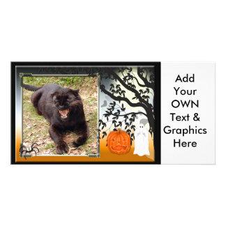 leopard-halloween-2010-0025-f photo greeting card