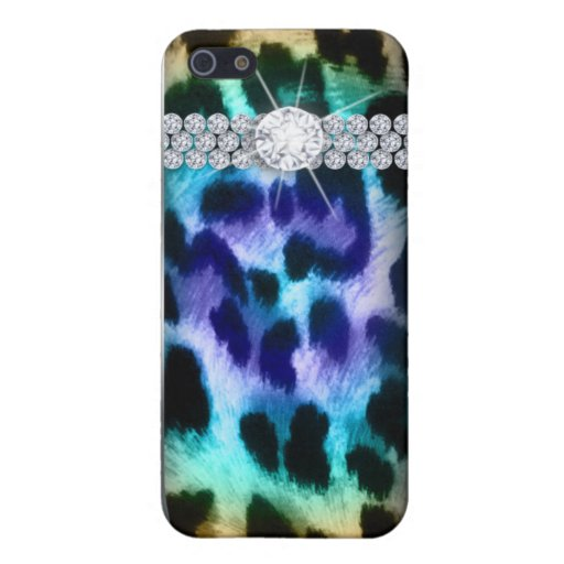 Leopard iPhone 4 Cover jewelry border Peacock