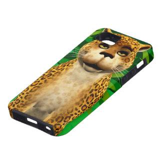 Leopard Kids Jungle Fun Cartoon iPhone Case