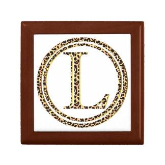 leopard L Gift Box