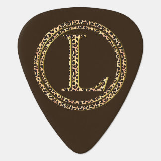 leopard L Guitar Pick