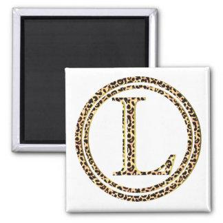 leopard L Magnet
