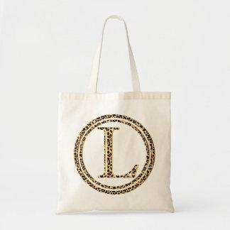 leopard L Tote Bag