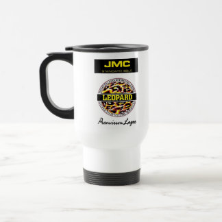 Leopard Lager Travel Mug