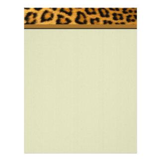 Leopard Letterhead