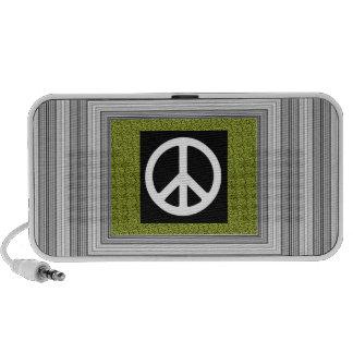 Leopard Lime Peace Speaker System