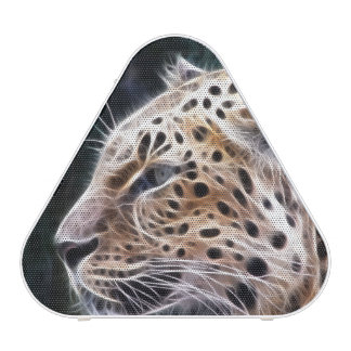 Leopard lines,Leopard painting Blueooth Speaker