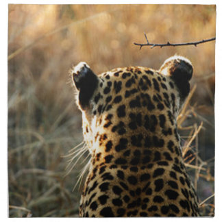 Leopard Looking Off Into Distance Napkin