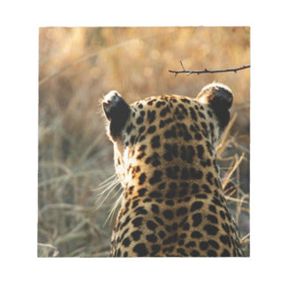 Leopard Looking Off Into Distance Notepads