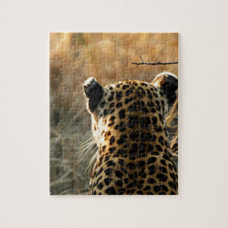 Leopard Looking Off Into Distance Puzzle