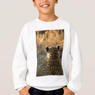 Leopard Looking Off Into Distance Sweatshirt