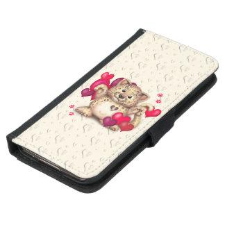 LEOPARD LOVE Galaxy S5 Wallet Case