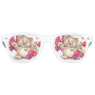 LEOPARD LOVE Party Shades Sunglasses