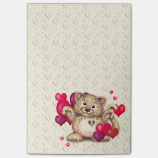 LEOPARD LOVE Post-it® Notes 4 x 6