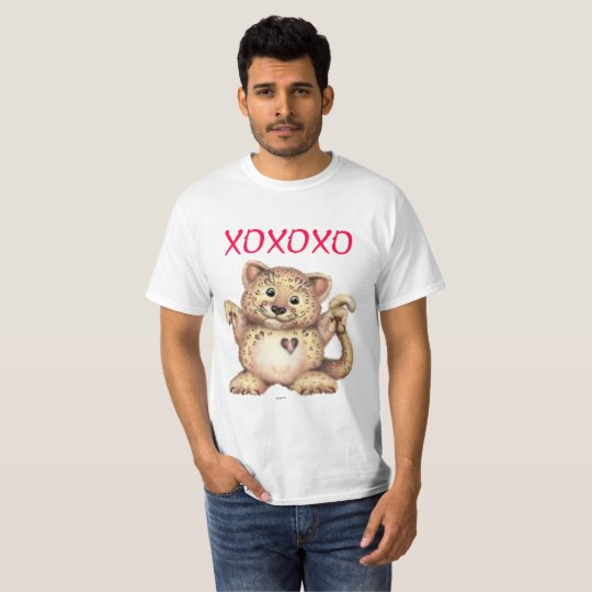 LEOPARD LOVE Value T-Shirt