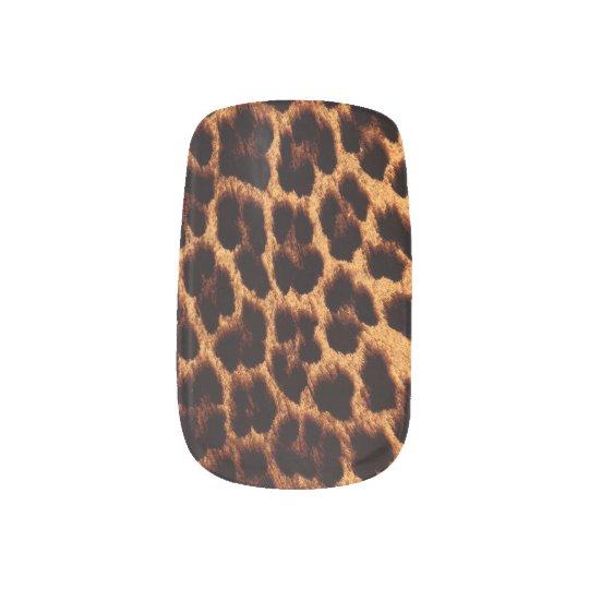 Leopard Manicure Nail Art