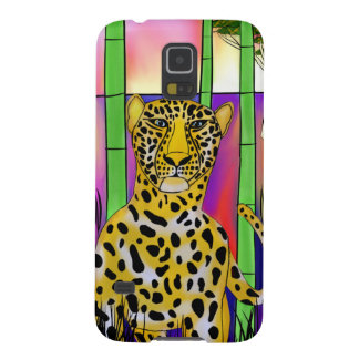Leopard one savannah galaxy s5 cover