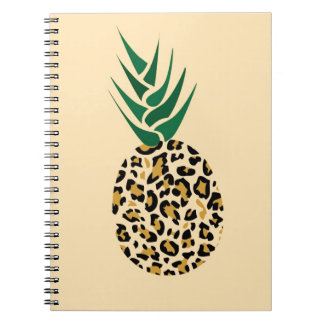 Leopard or Pineapple? Funny illusion picture Notebooks