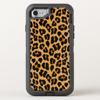 Leopard OtterBox Defender iPhone 8/7 Case