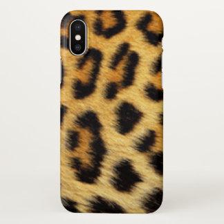 Leopard Pattern Print Design iPhone X Case