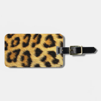Leopard Pattern Print Design Luggage Tag