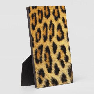 Leopard Pattern Print Design Plaque