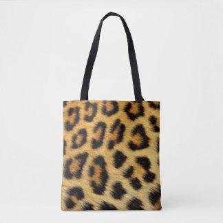 Leopard Pattern Print Design Tote Bag