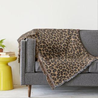 Leopard Pattern Throw Blanket