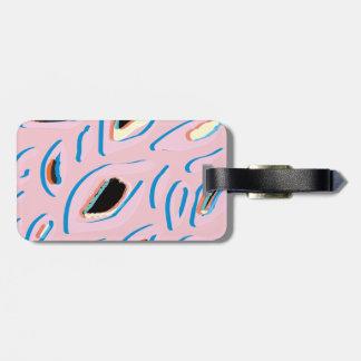 Leopard - Pink Bag Tag