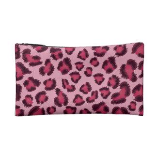 Leopard Pink Makeup Bag (Small)