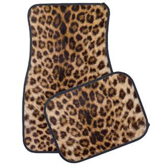 Leopard Print African Cat Prints Car Mat