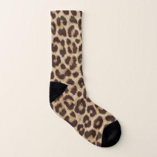 Leopard Print All-Over-Print Socks 1