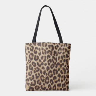 Leopard Print All-Over-Print Tote Bag