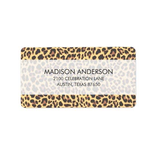 Leopard Print Animal Skin Pattern