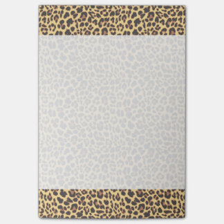 Leopard Print Animal Skin Pattern Post-it® Notes